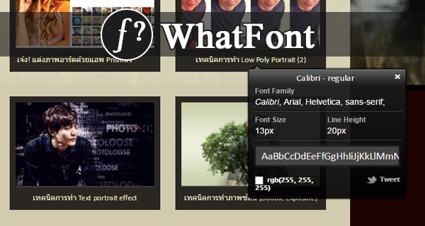 whatfont-extension